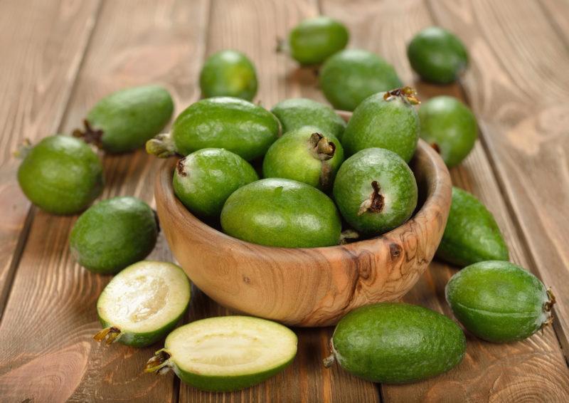 Что такое фейхоа? Полезные свойства и противопоказания фрукта фейхоа