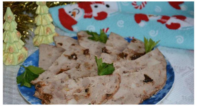 как приготовить салат из чернослива и ореха