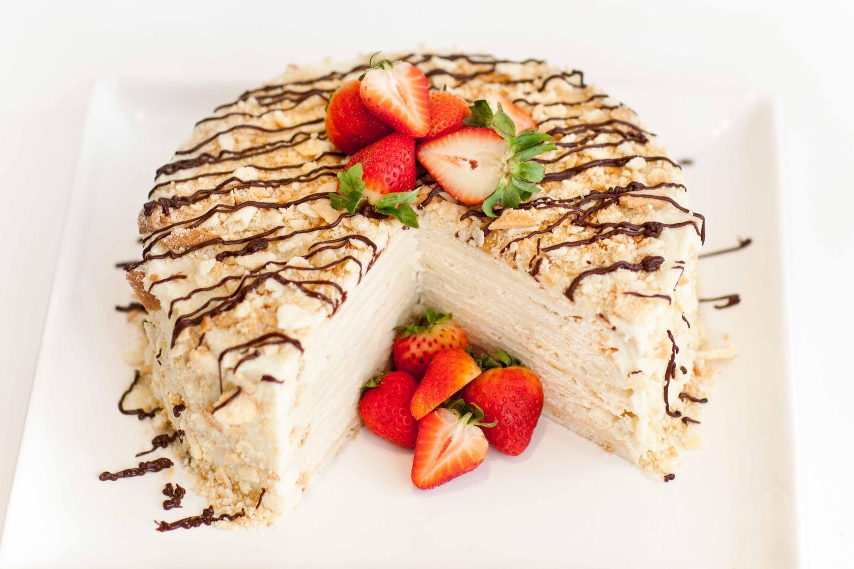 undeniably-delicious-tort-napale Торт Наполеон из готового слоеного теста Рецепт торта Наполеона из покупного слоёного теста