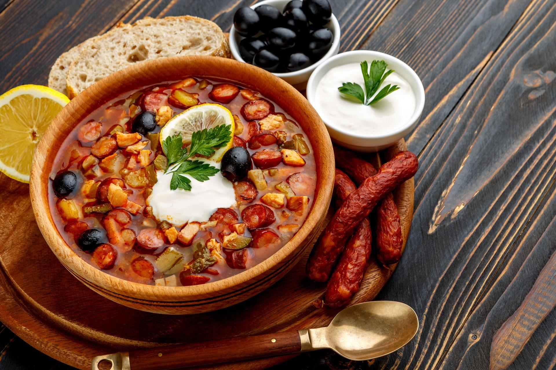 Солянка сборная мясная - пошаговый рецепт с фото на Готовим дома