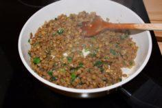 Вкусный гарнир из красной чечевицы - рецепт пошаговый с фото