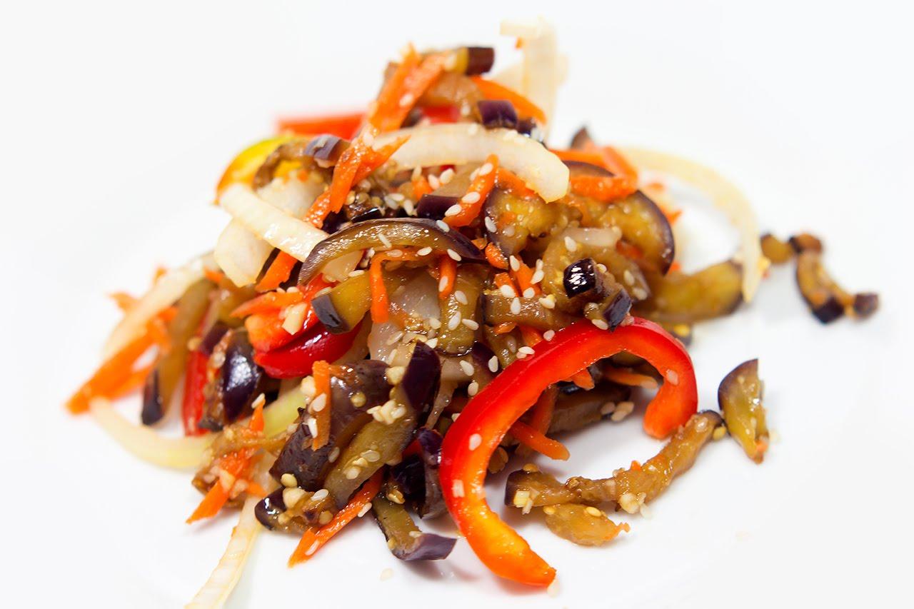 Баклажаны по-корейски — 8 самых вкусных рецептов