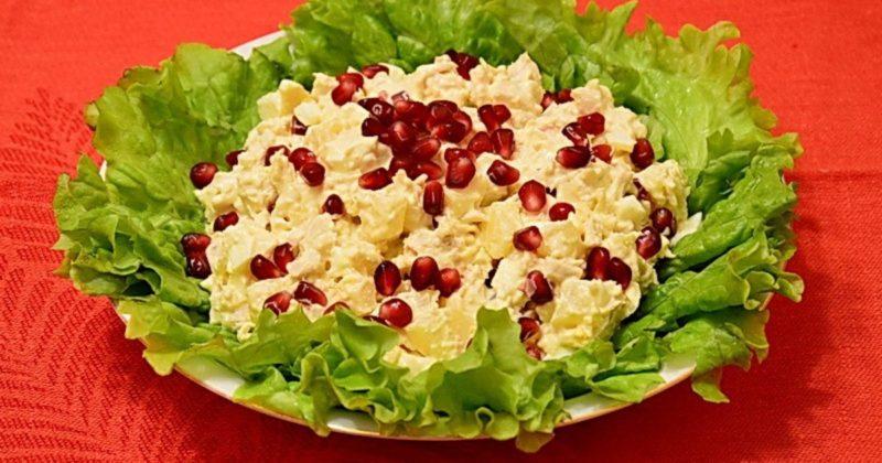 все рецепты салата арбузная долька
