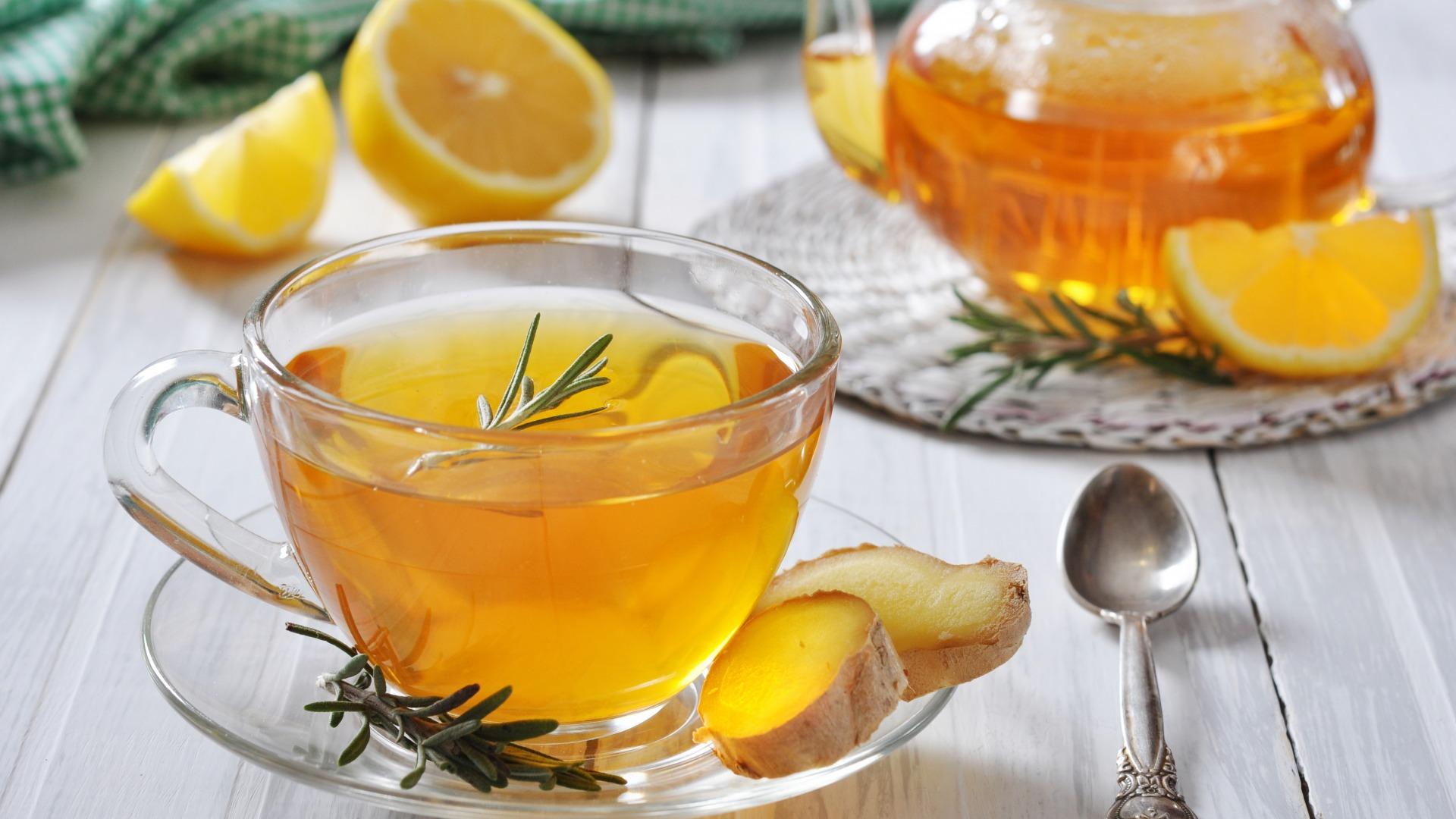 Как приготовить имбирный чай ВКУСНО)))