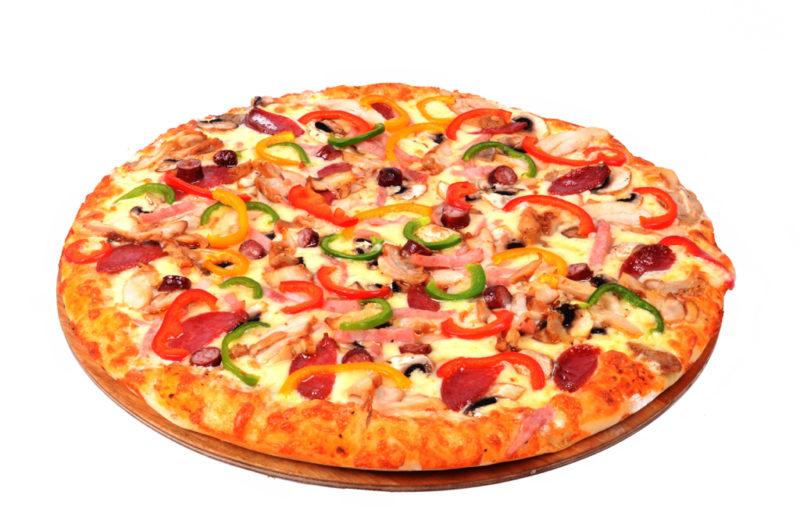 рецепт пиццы в духовке вегетарианская