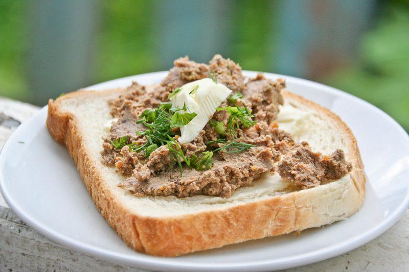 Паштет из говяжьей печени – 8 рецептов приготовления печеночного паштета