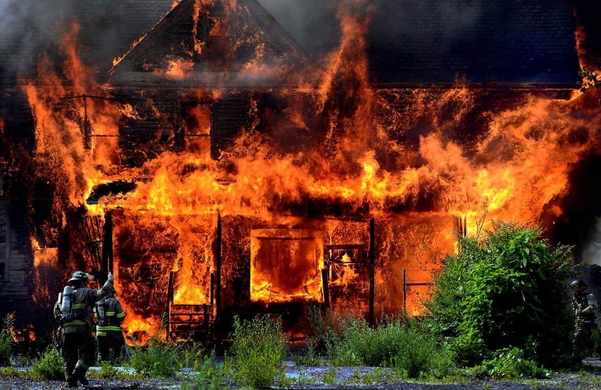 К чему снится пожар дома? Сонник пожар
