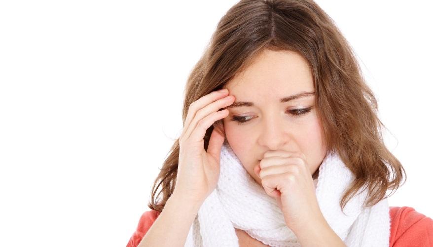 Сильный сухой кашель у взрослого