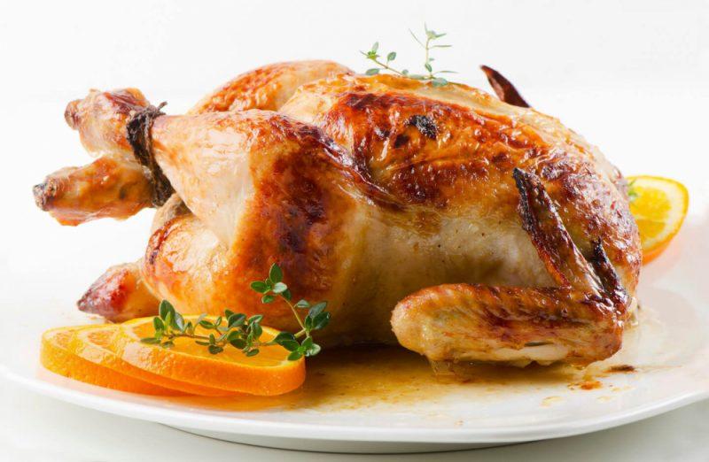 Курица-гриль в духовке - 11 рецептов приготовления
