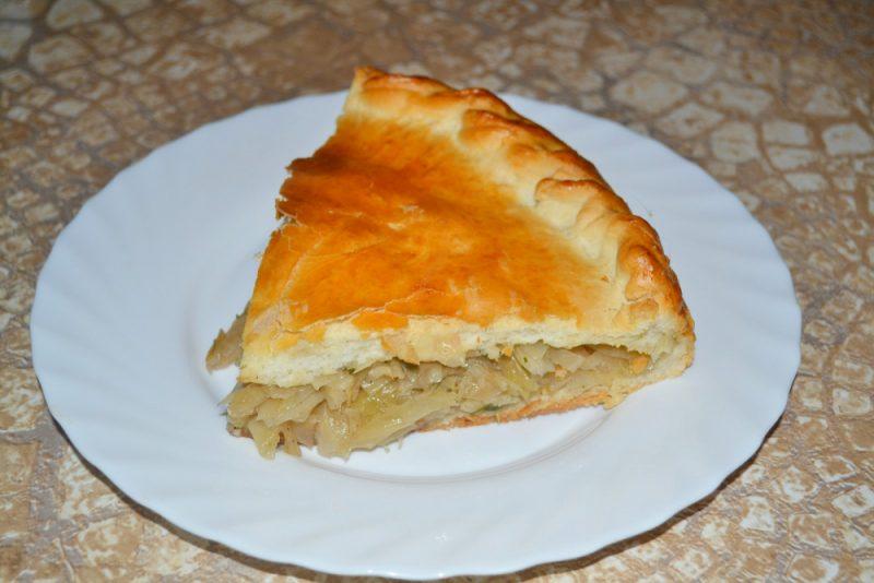 Капустный пирог - 8 быстрых рецептов для ленивых