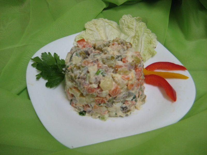 рецепты мясных салатов с картинками знаете, как открыть