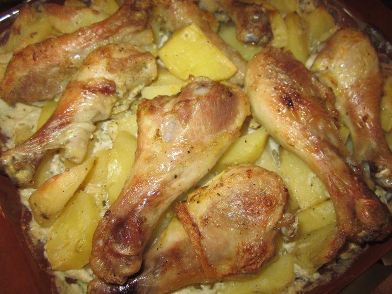 рецепты второго блюда с куриных ножек