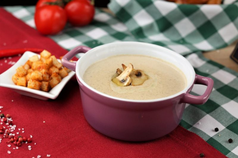 Крем-суп из шампиньонов - 10 вкусных рецептов приготовления