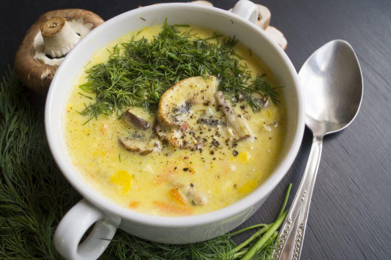 Сырный суп с курицей - 8 рецептов приготовления