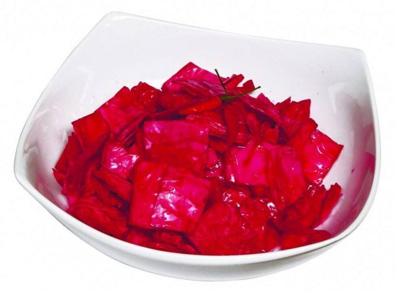 Маринованная капуста «Розовый лепесток» со свеклой — Superfb