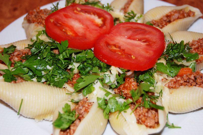 Фаршированные макароны ракушки – 7 рецептов пасты