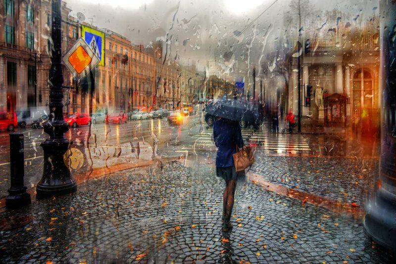 сонник гулять под дождем