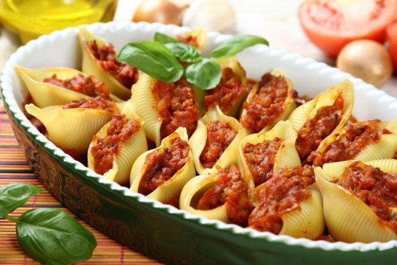 Макароны с фаршем - 9 вкусных рецептов приготовления