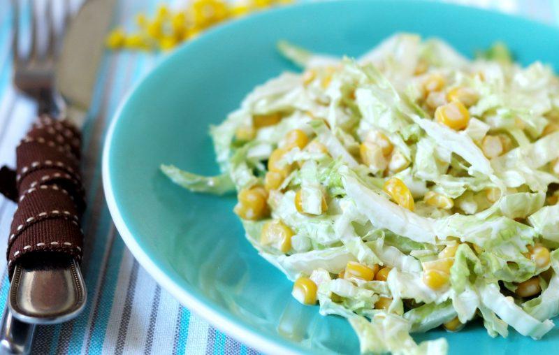 Салат из свежей капусты — 12 рецептов приготовления