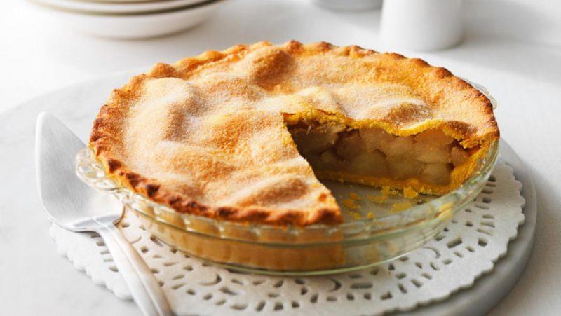 Пирог с тыквой и яблоками – 6 рецептов приготовления в духовке и мультиварке
