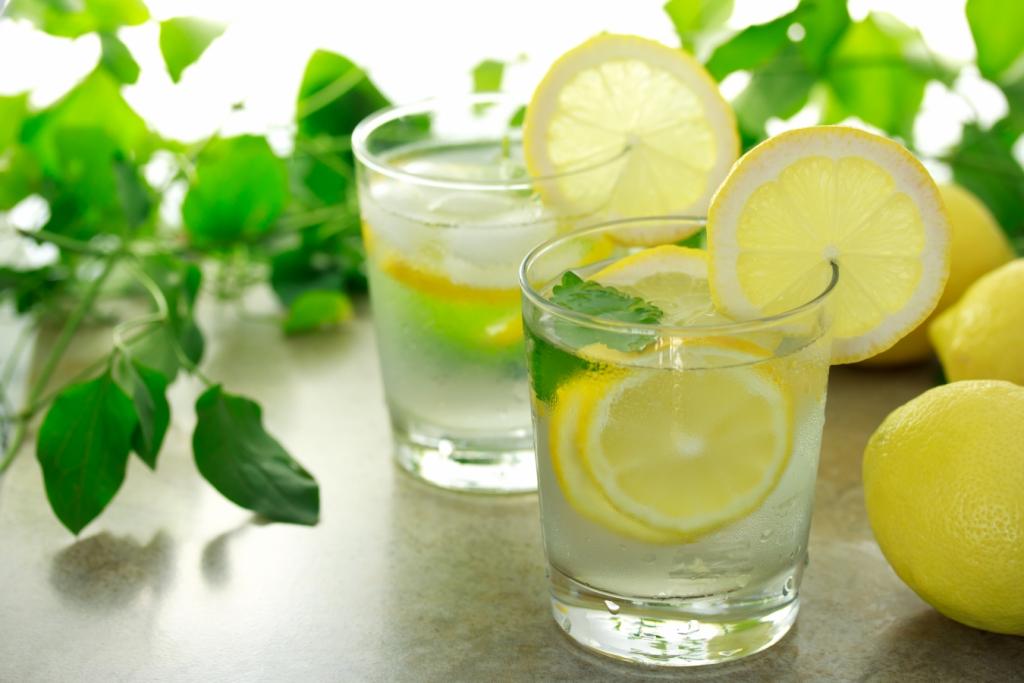 Минеральная вода с лимоном для похудения