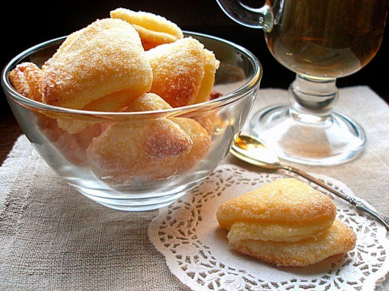 Творожное печенье треугольники - 7 рецептов в домашних условиях