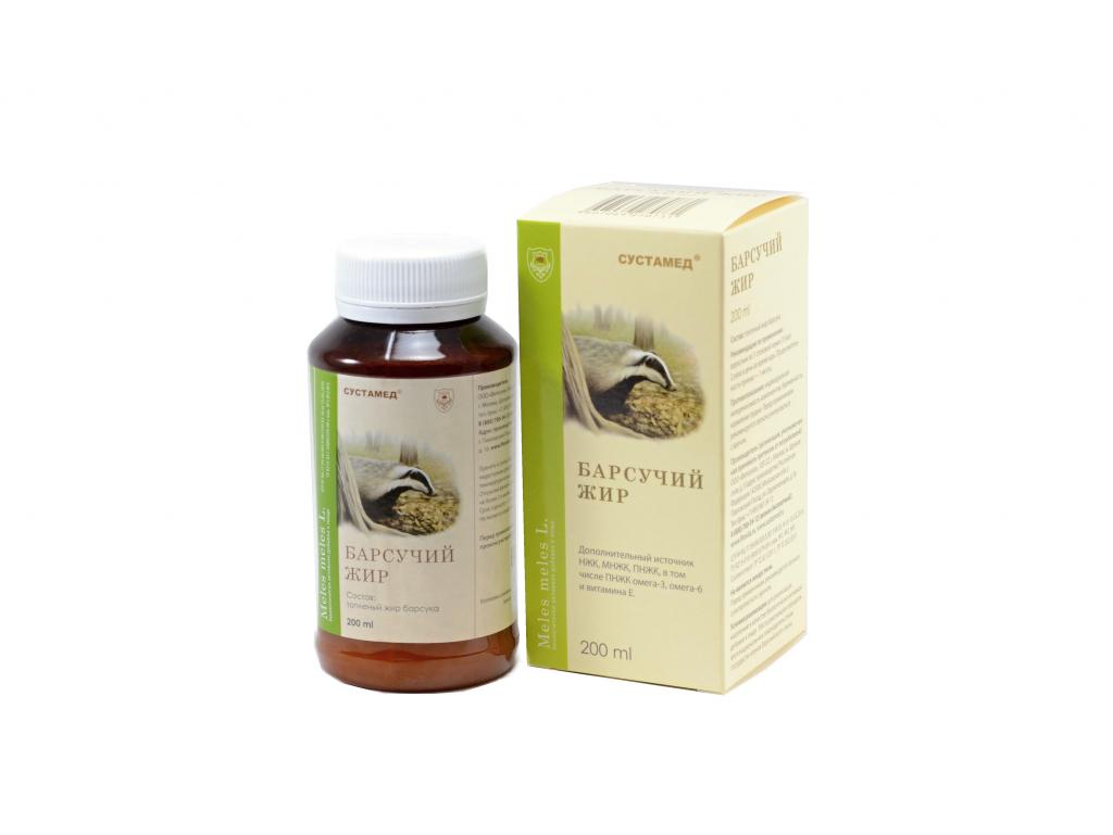 Как использовать барсучий жир при лечении кашля