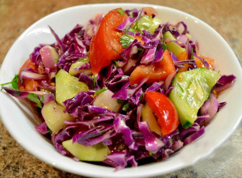 салат из краснокочанной капусты рецепты с фото искусстве
