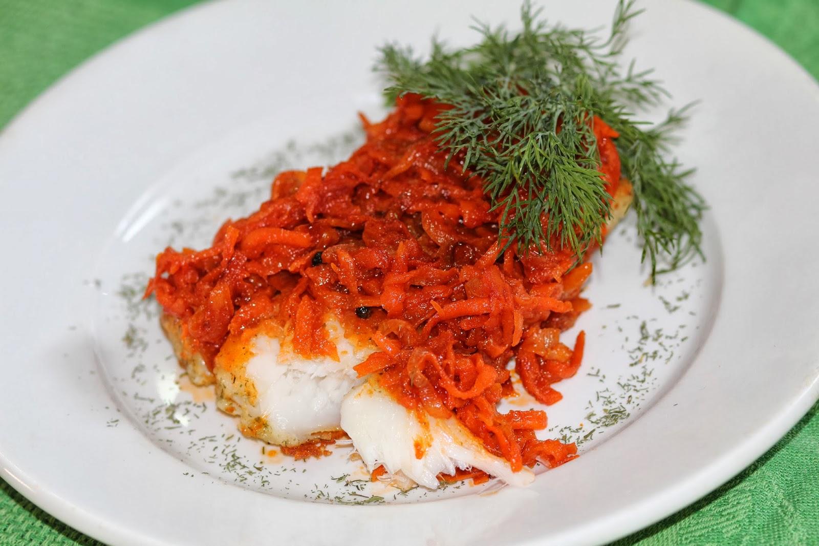 рецепты рыбы в маринаде с овощами фото способом обязательно попробуем