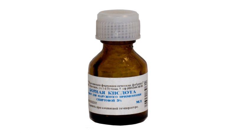 Борная кислота в ухо: применение при отите и боли в ушах
