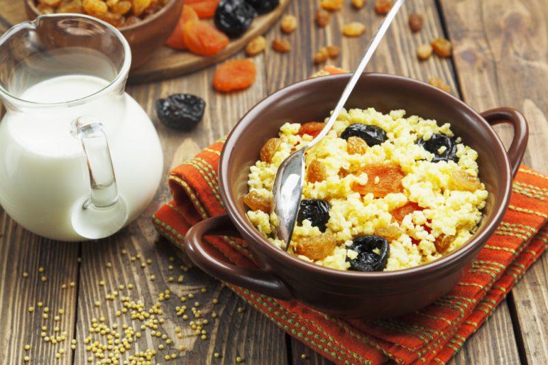 Пшенная каша – 8 рецептов приготовления вкусной и рассыпчатой каши