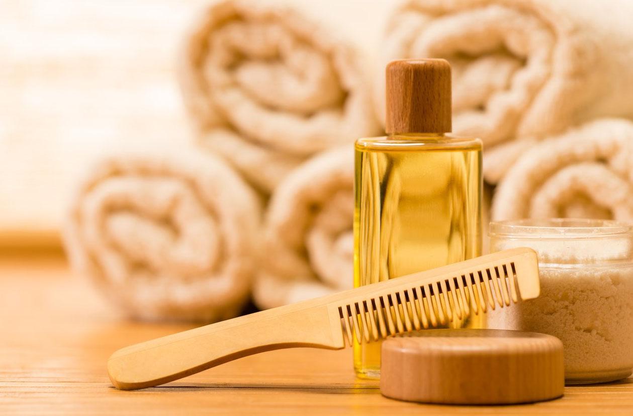 Льняное масло для волос для кончиков