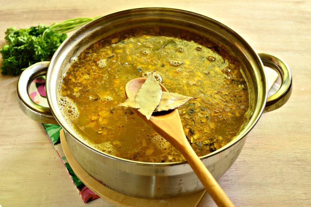 Суп из рыбных консервов ♨