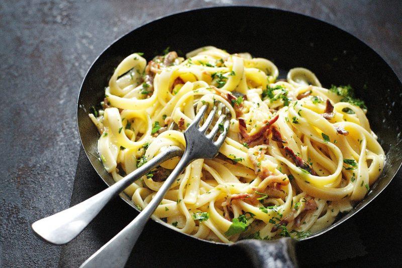 Карбонара – классический рецепт пасты и 5 вариантов