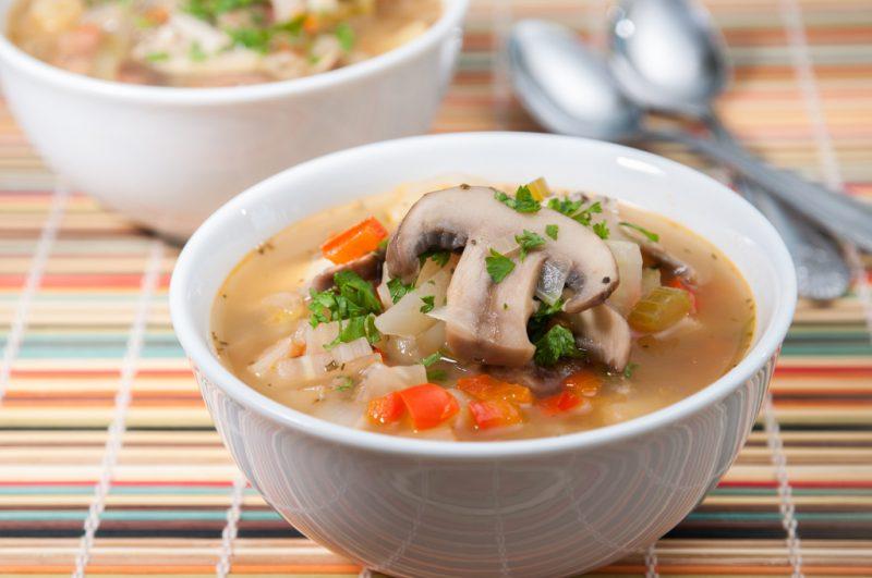 Грибной суп - 12 вкусных рецептов приготовления