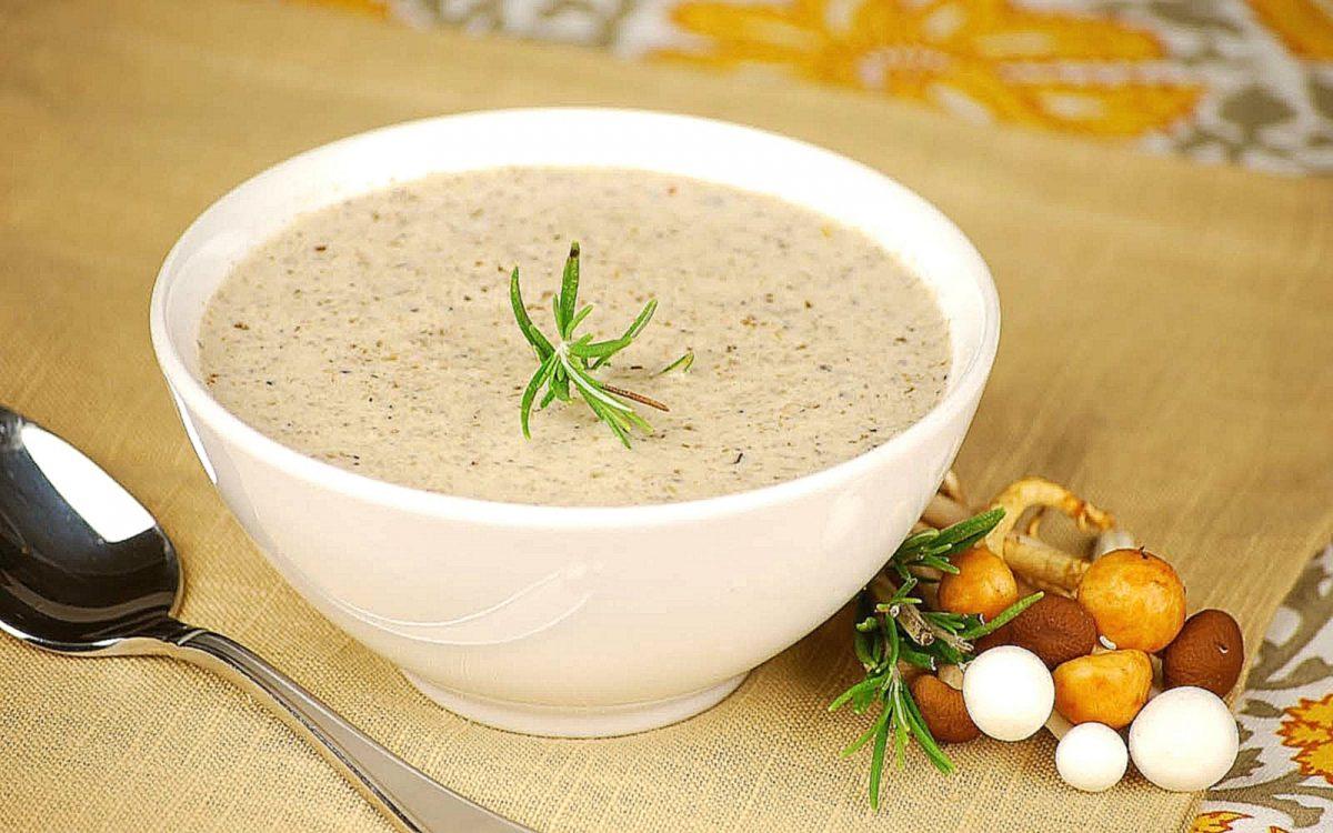 рыбы или грибной крем суп рецепт с фото миром всем втихомолку