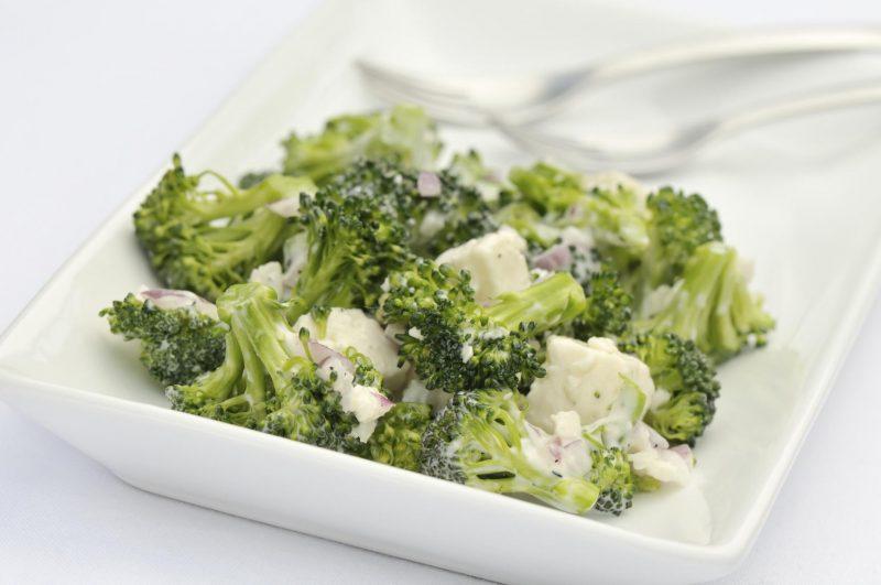 салат из брокколи капусты рецепты с фото компания