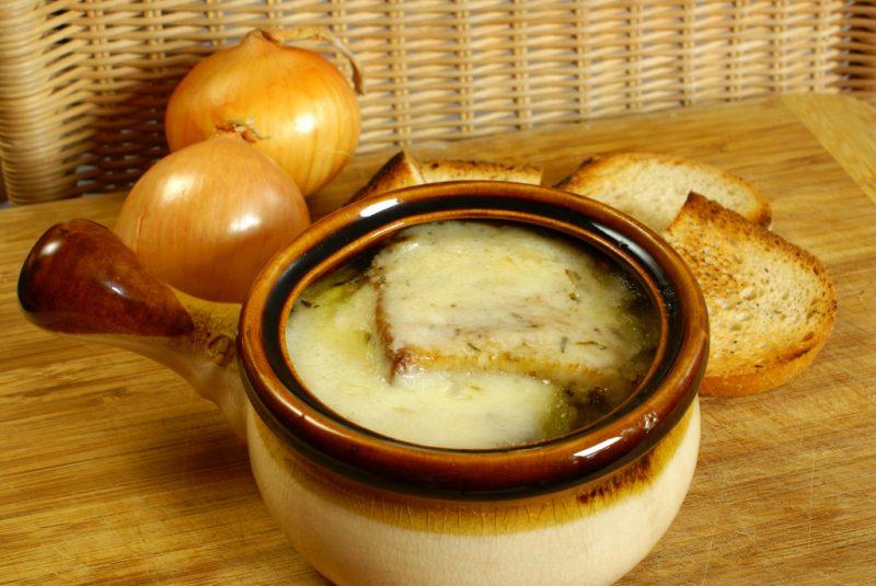 Луковый суп - 9 рецептов классический французский, для похудения