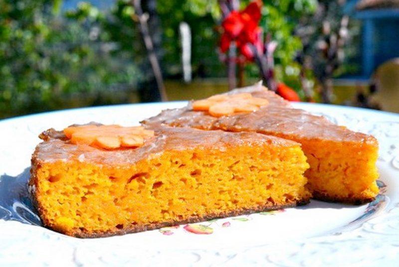 Тыквенный пирог с барбарисом
