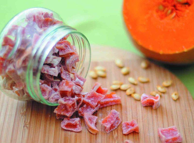 Цукаты из тыквы - 7 рецептов в домашних условиях