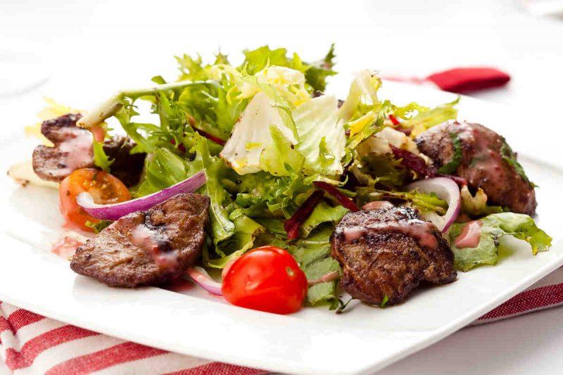 Печеночный салат - 7 рецептов вкуснейших салатов