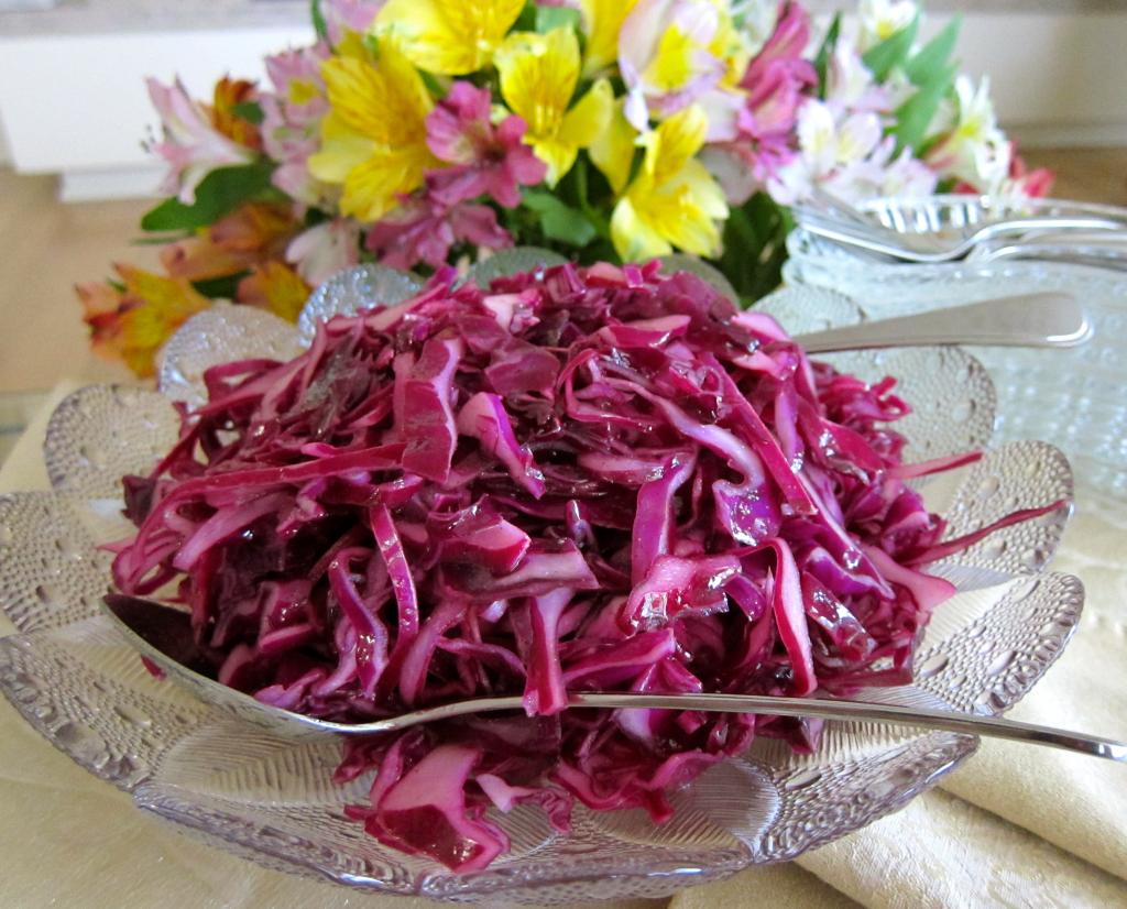 некоторое салаты из фиолетовой капусты рецепты с фото замужем любимым анзуром