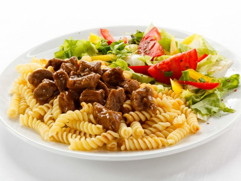 Макароны с мясом - 9 рецептов приготовления