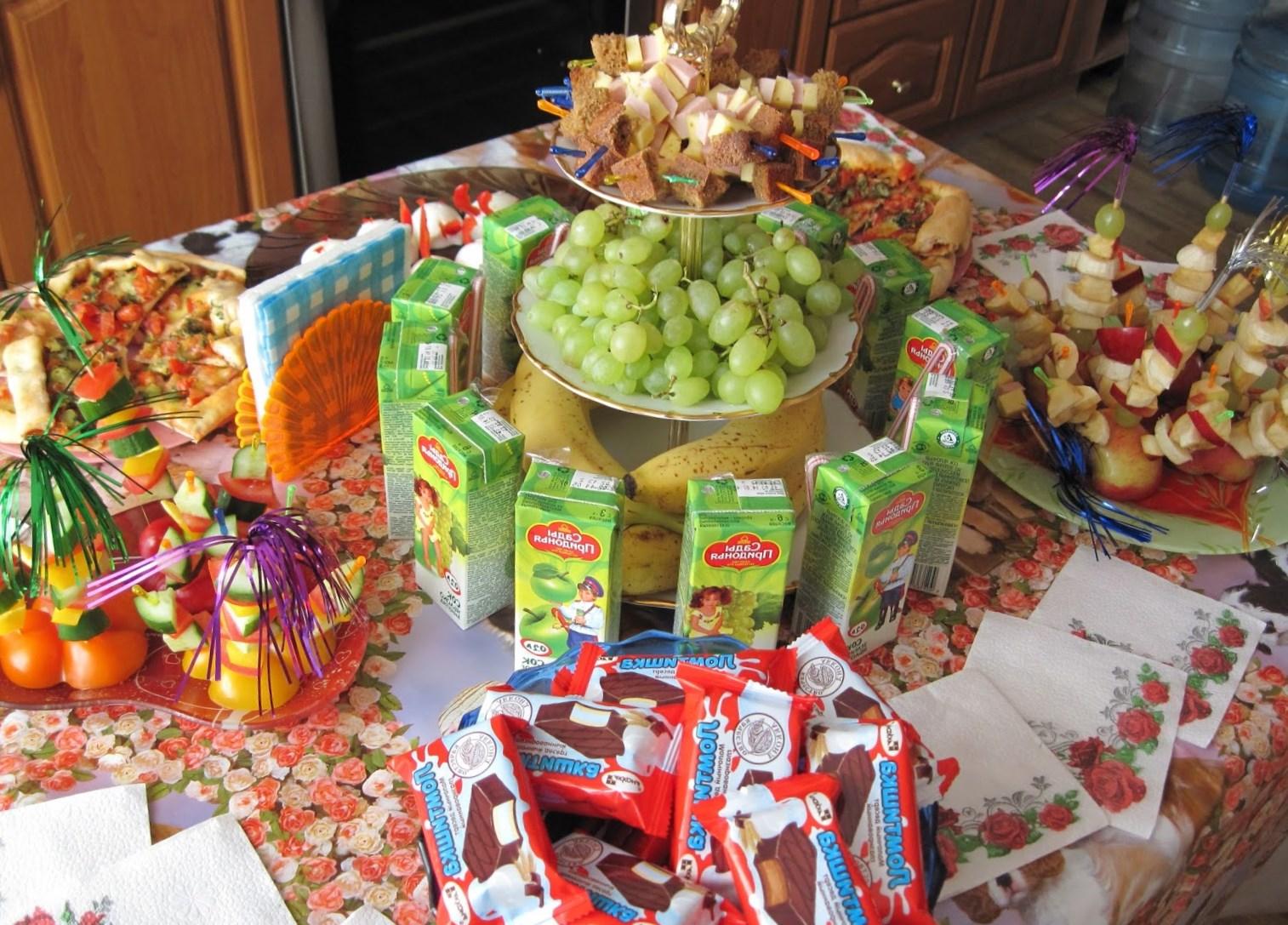 День рождения дочери 7 лет что приготовить