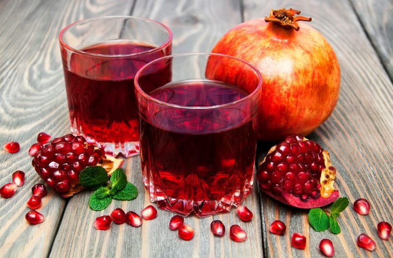 Гранатовый сок: польза и вред для организма