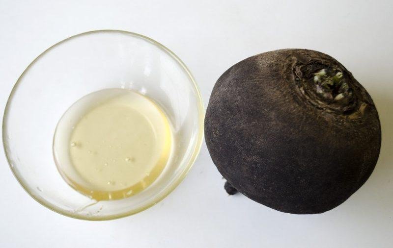 Редька с медом от кашля: черная и зеленая редька, рецепты приготовления