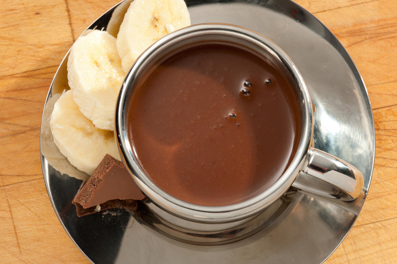 Горячий шоколад с карамелью рецепт