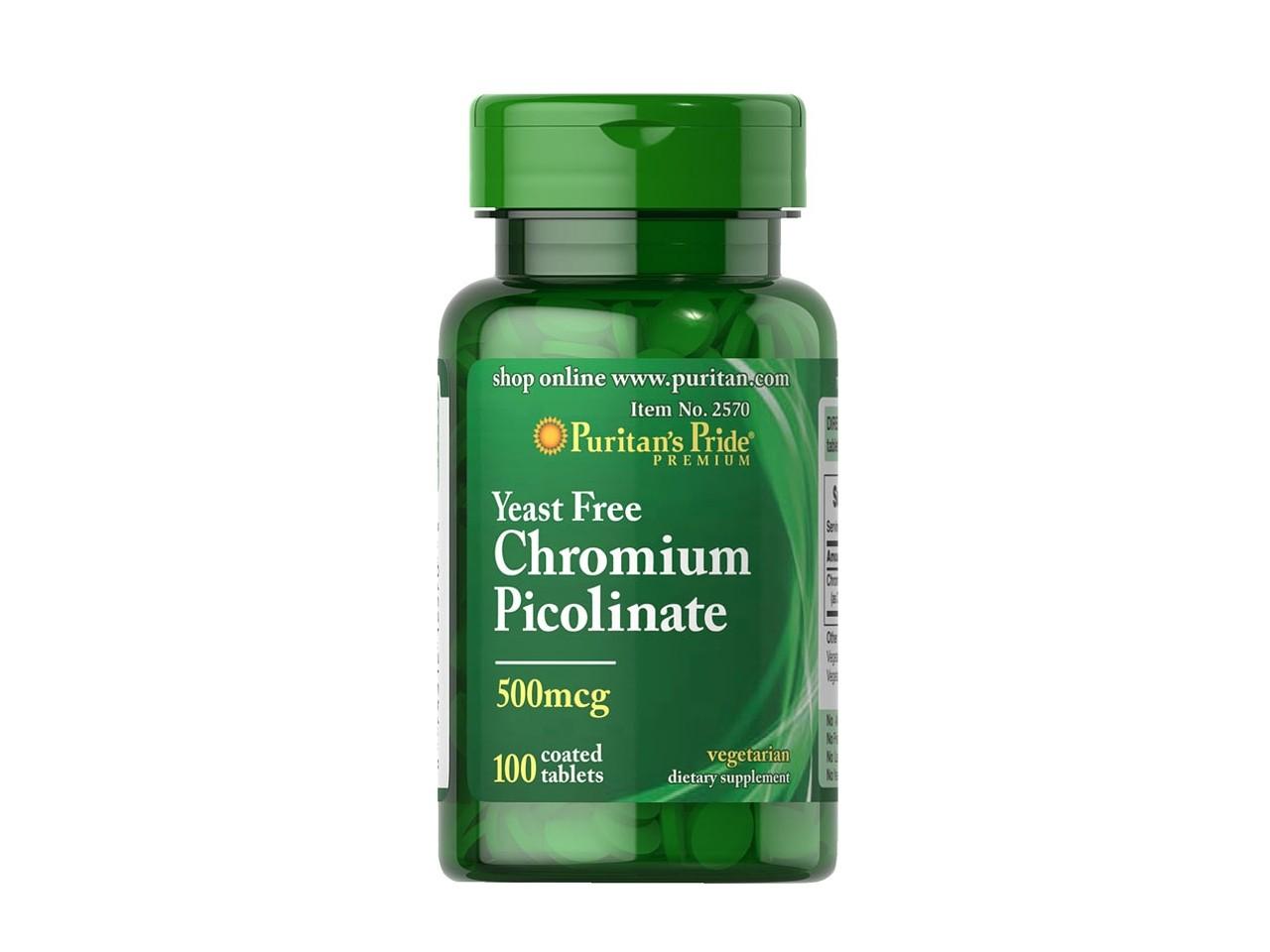Пиколинат хрома — инструкция по применению для похудения
