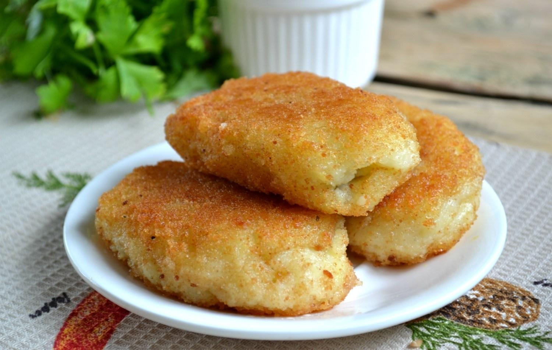 блюда из толченой картошки с фото пошагово отлично