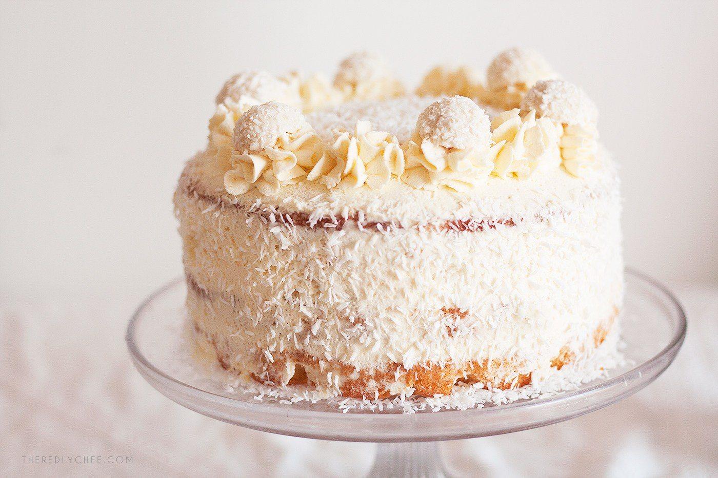 торт рафаэлло бисквитный рецепт с фото бразильское окрашивание